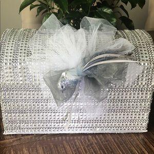 Diamond decorator envelope box